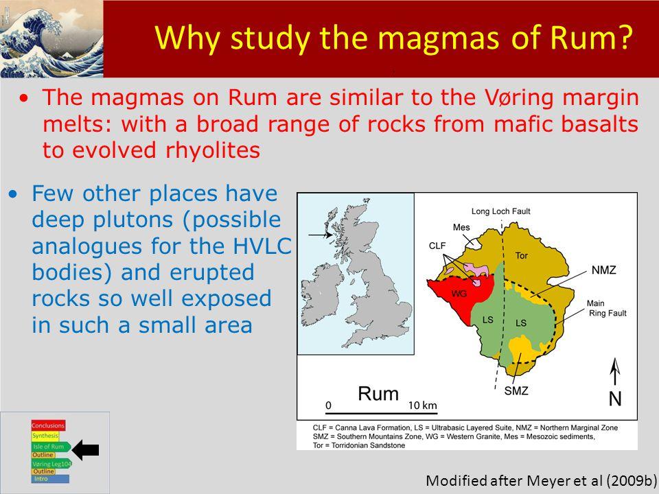 Klik om het opmaakprofiel te bewerken Klik om de opmaakprofielen van de modeltekst te bewerken – Tweede niveau Derde niveau – Vierde niveau » Vijfde niveau 15 Why study the magmas of Rum .