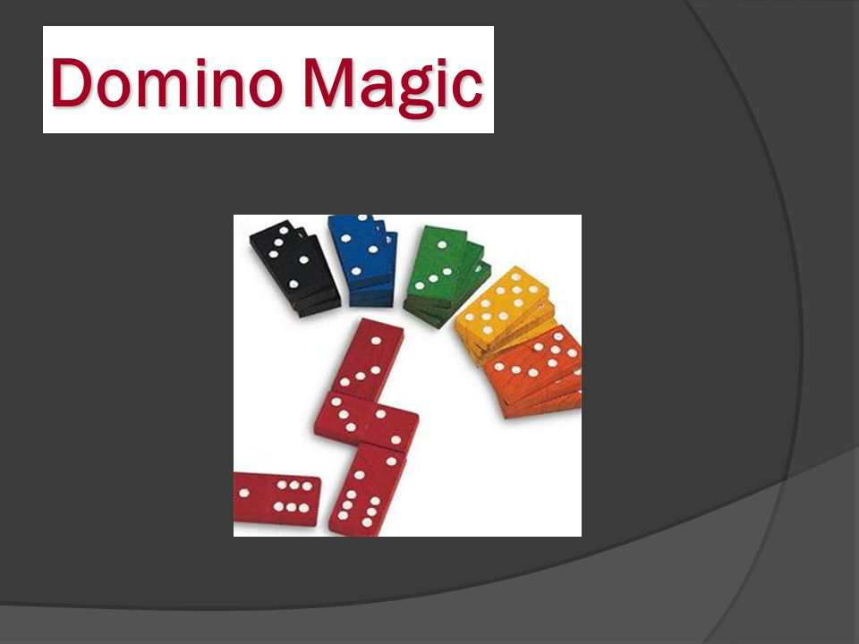 Domino Magic