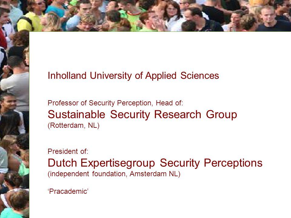Management, finance en recht Rotterdam, 18 april 2011 Marnix Eysink Smeets Lector Public Reassurance Voorzitter Landelijke Expertisegroep Veiligheidspercepties Verbeteren van veiligheidsbeleving.