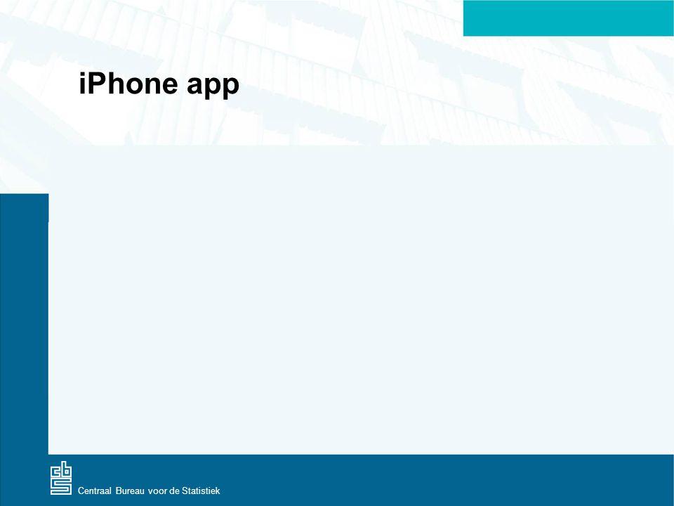 Centraal Bureau voor de Statistiek iPhone app