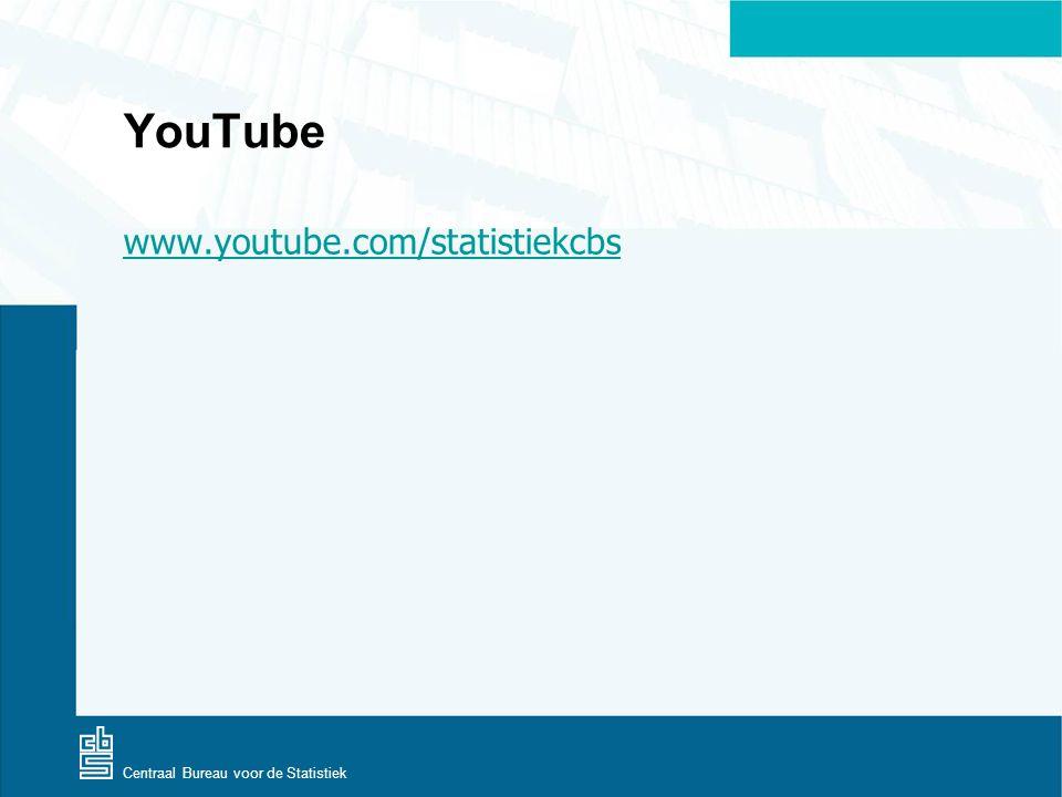 Centraal Bureau voor de Statistiek YouTube www.youtube.com/statistiekcbs