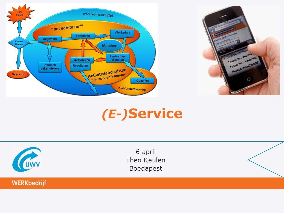 (E-) Service 6 april Theo Keulen Boedapest