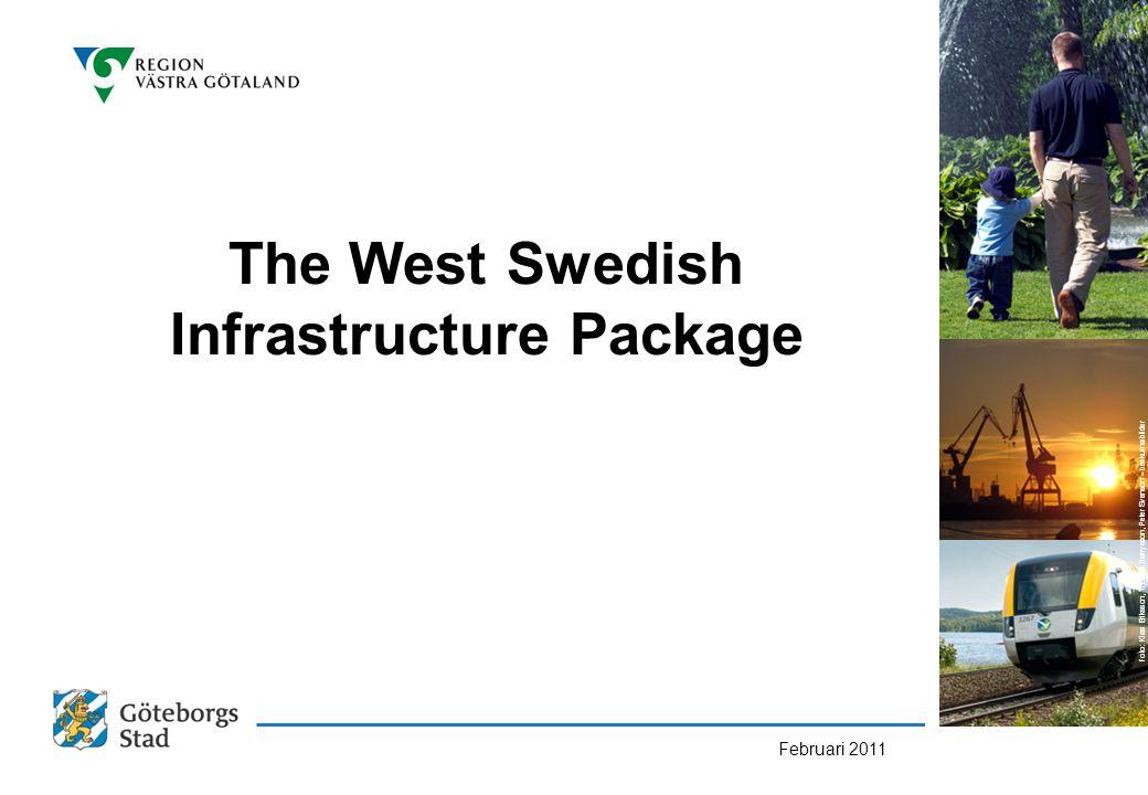 The West Swedish Infrastructure Package Februari 2011 Foto: Klas Eriksson, Thomas Harrysson, Peter Svenson – beskurna bilder