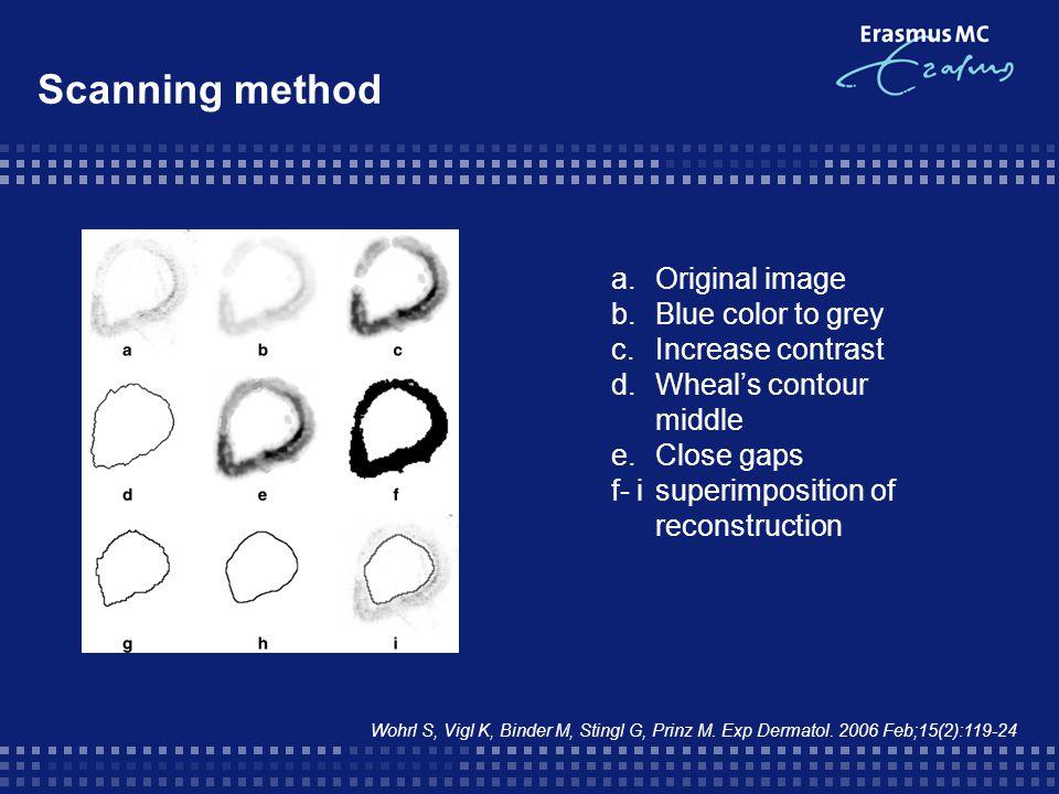 Scanning method Wohrl S, Vigl K, Binder M, Stingl G, Prinz M.