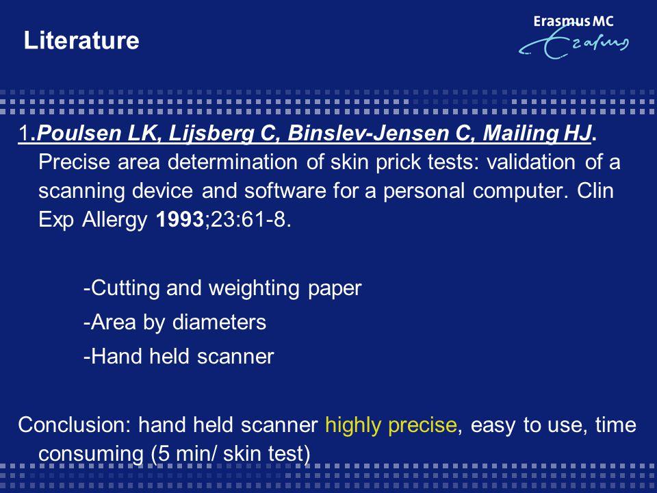 n = 1500 6 different inhalation allergens: D.