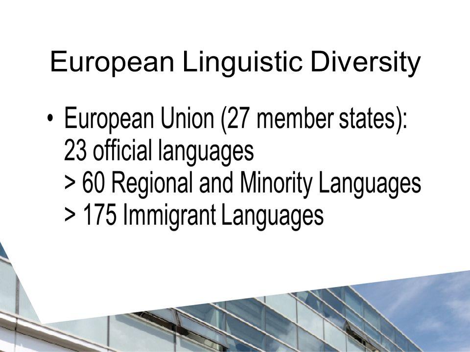 European Linguistic Diversity