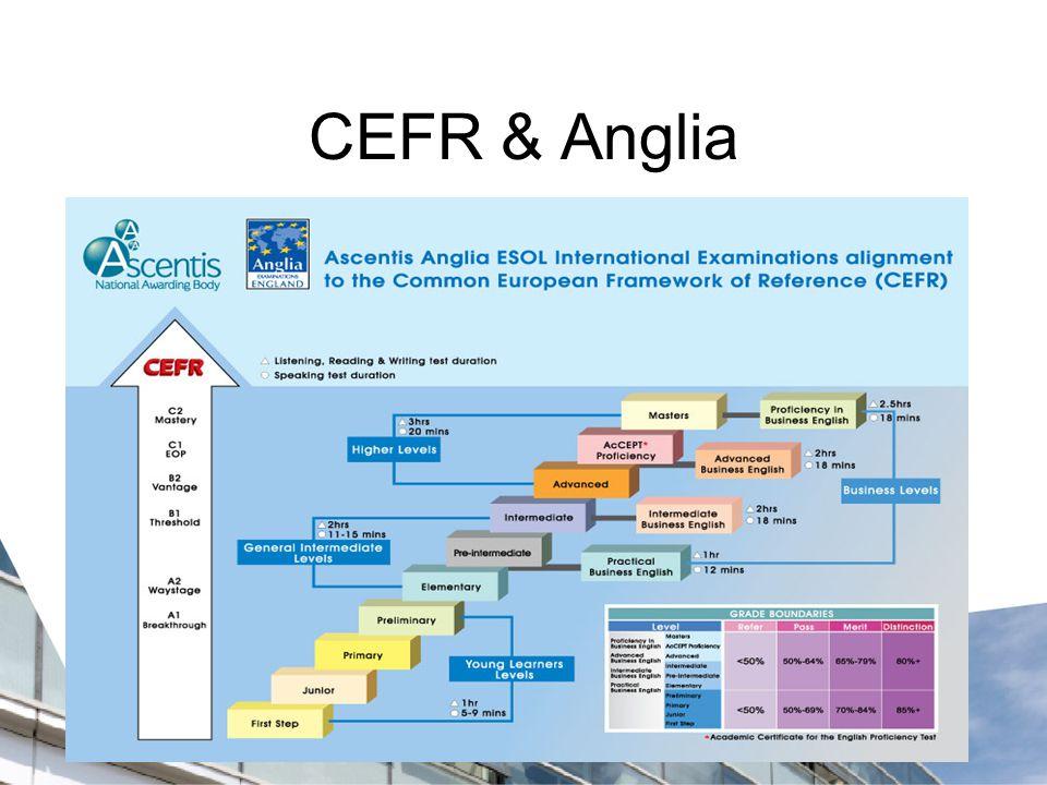 CEFR & Anglia