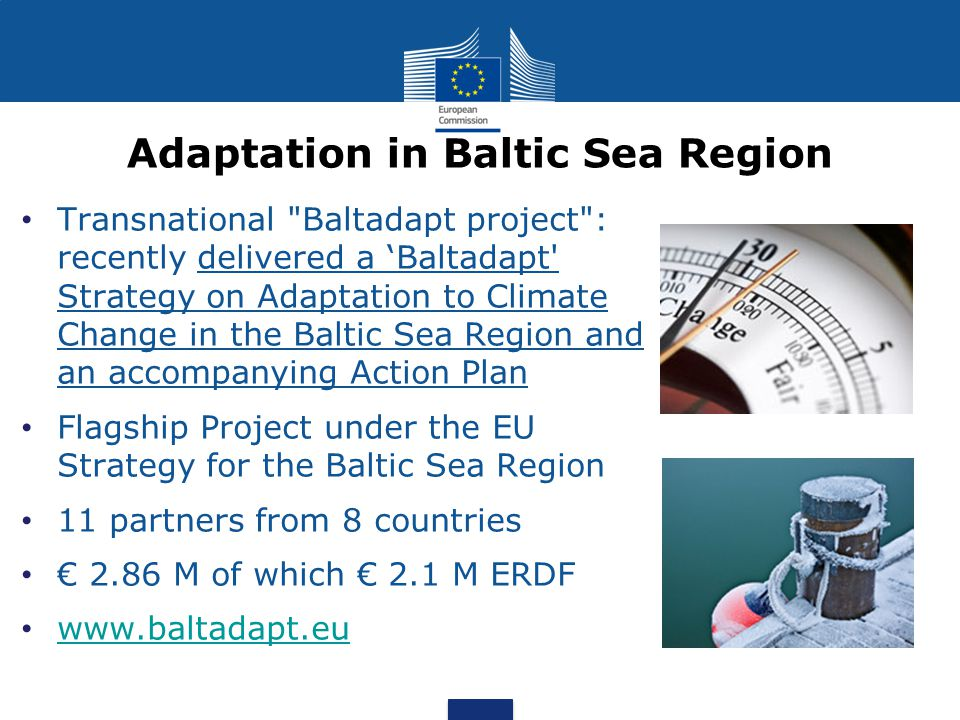 Adaptation in Baltic Sea Region Transnational