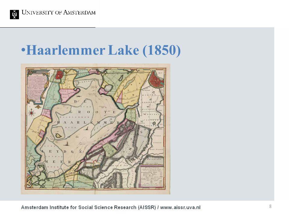 8 Haarlemmer Lake (1850) 1.Studie ■ Onderwerp 2.Studie ■ Onderwerp