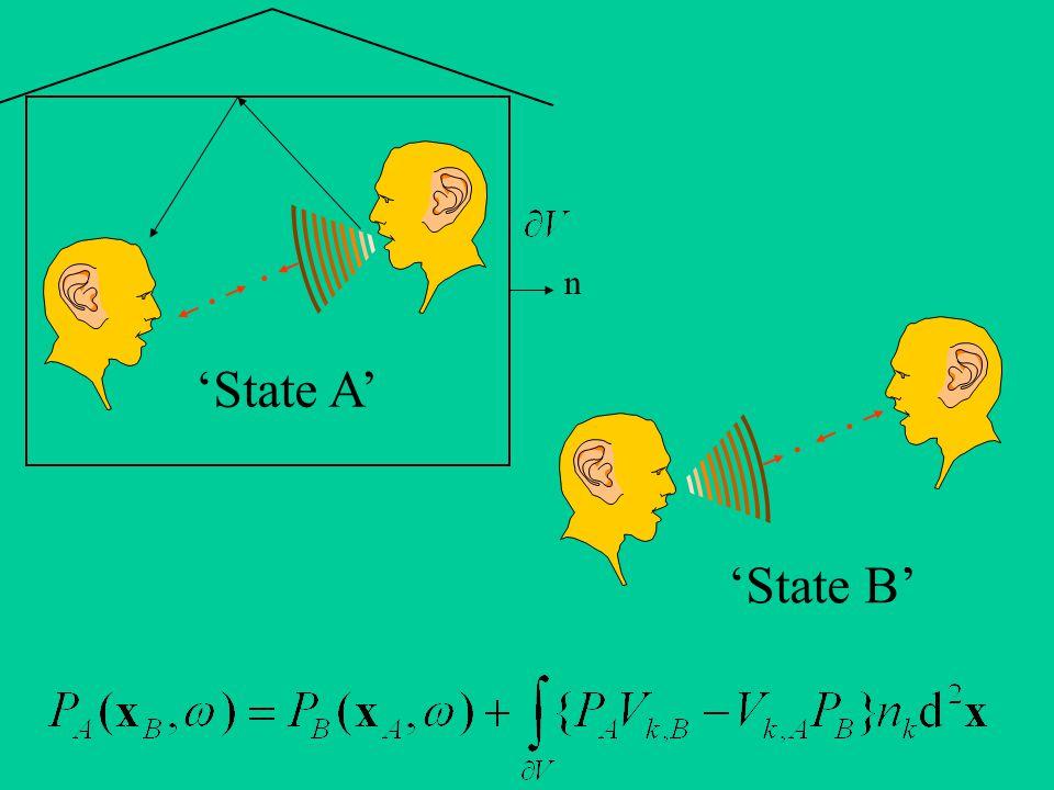 'State A' 'State B' n