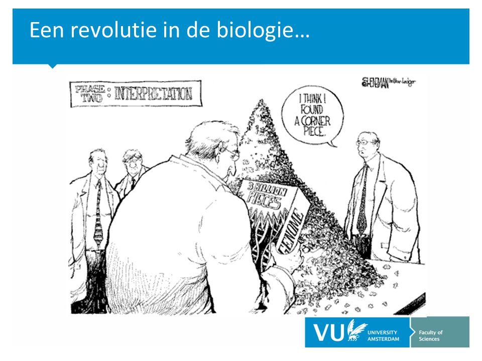 Een revolutie in de biologie…