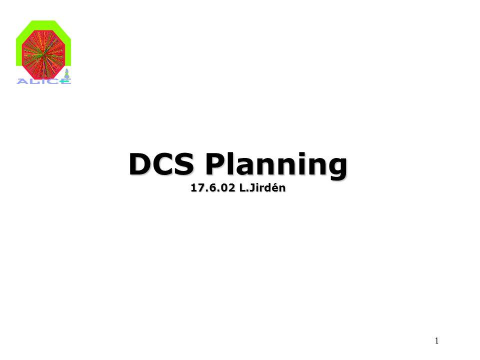 1 DCS Planning 17.6.02 L.Jirdén