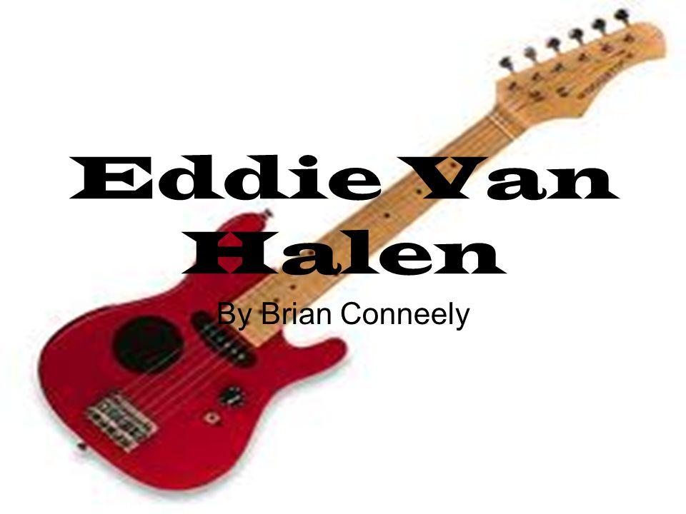 Eddie Van Halen By Brian Conneely
