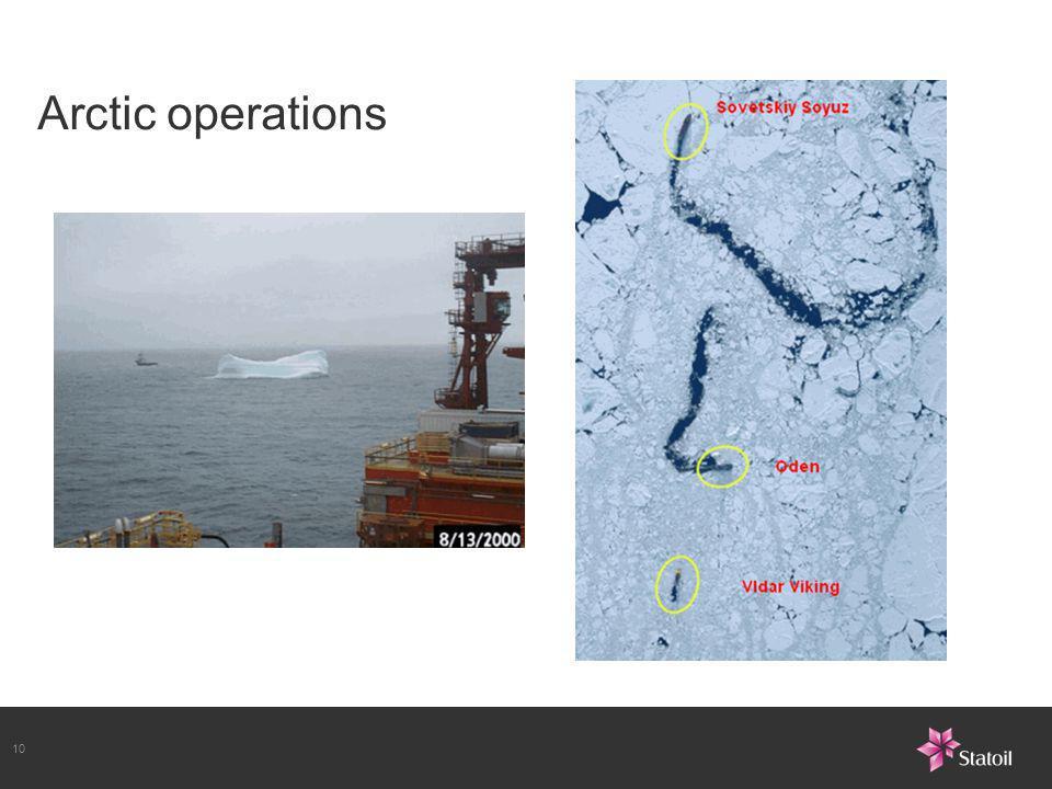10 Arctic operations
