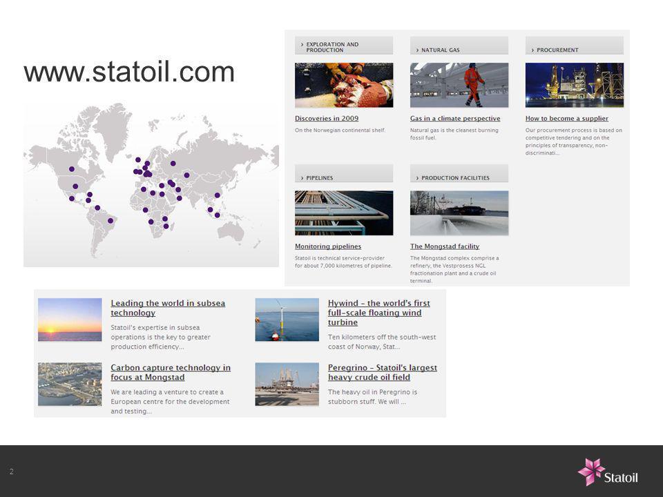 2 www.statoil.com