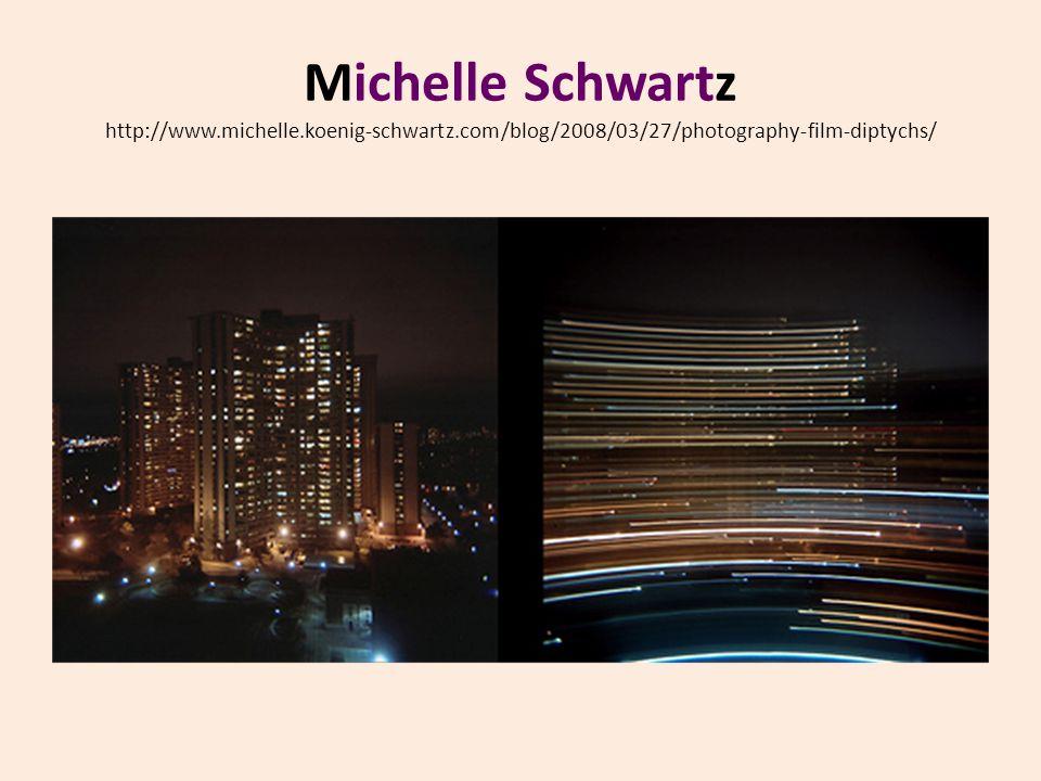 Michelle Schwartz http://www.michelle.koenig-schwartz.com/blog/2008/03/27/photography-film-diptychs/