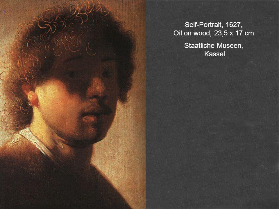 Self-Portrait, 1627, Oil on wood, 23,5 x 17 cm Staatliche Museen, Kassel