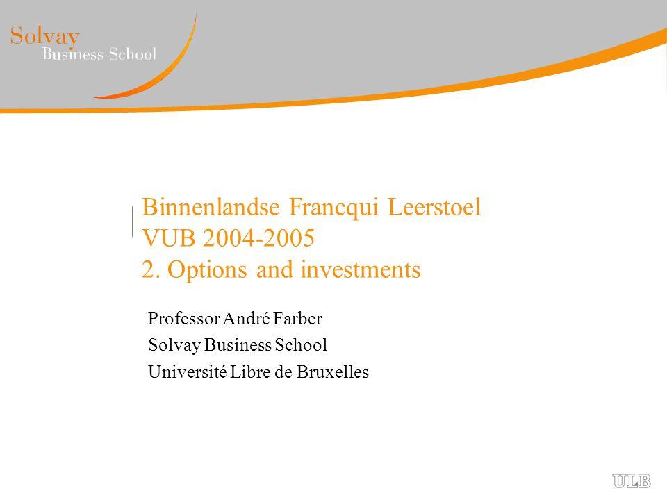 Binnenlandse Francqui Leerstoel VUB 2004-2005 2.
