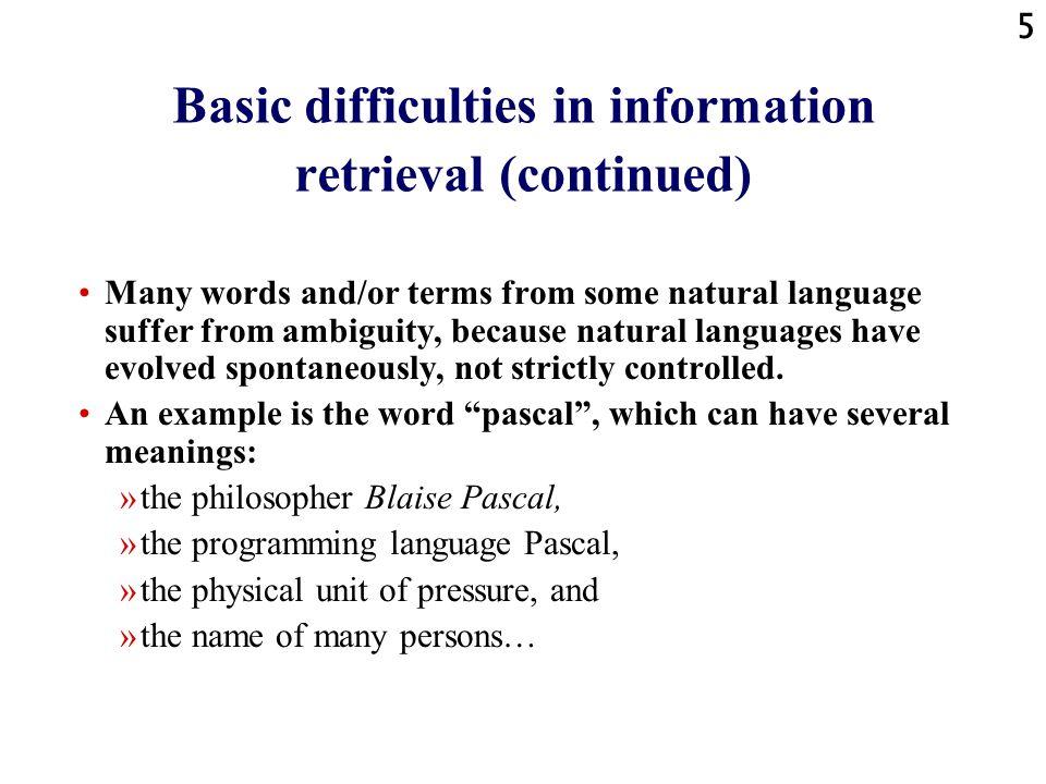 46 Conclusie van deze conclusie: Het laatste woord is nog niet gezegd We zitten nog een tijdje met dit probleem