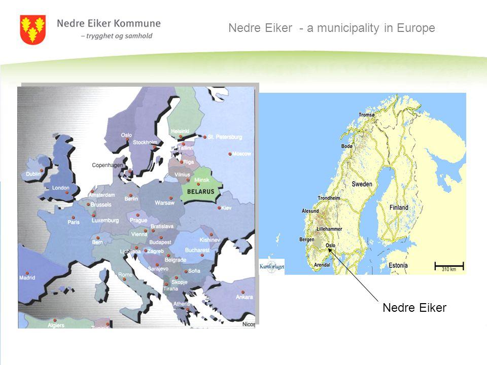 Nedre Eiker - a municipality in Europe Nedre Eiker