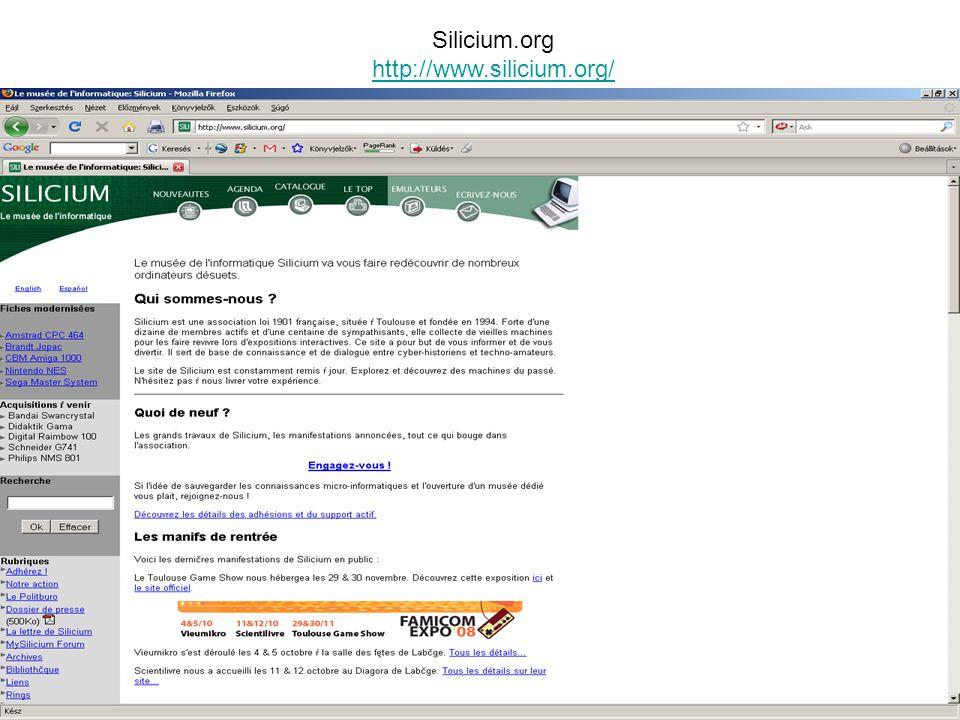 Silicium.org http://www.silicium.org/