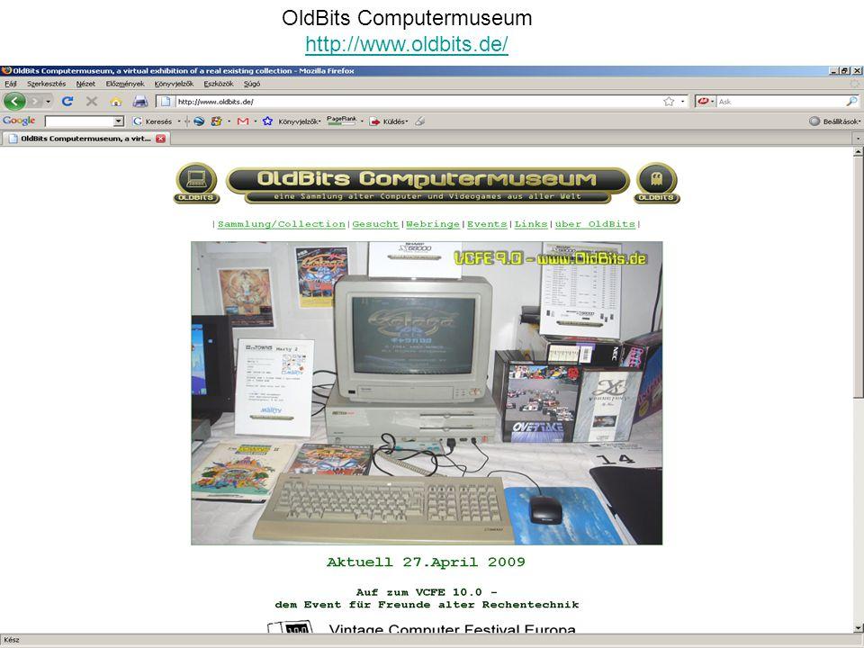 OldBits Computermuseum http://www.oldbits.de/