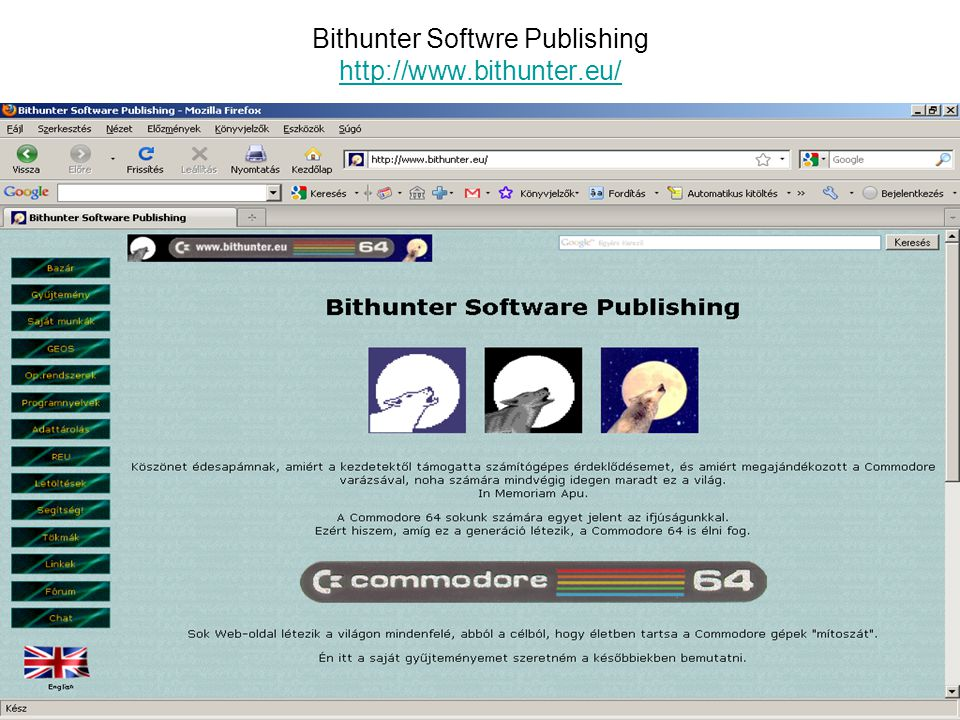 Bithunter Softwre Publishing