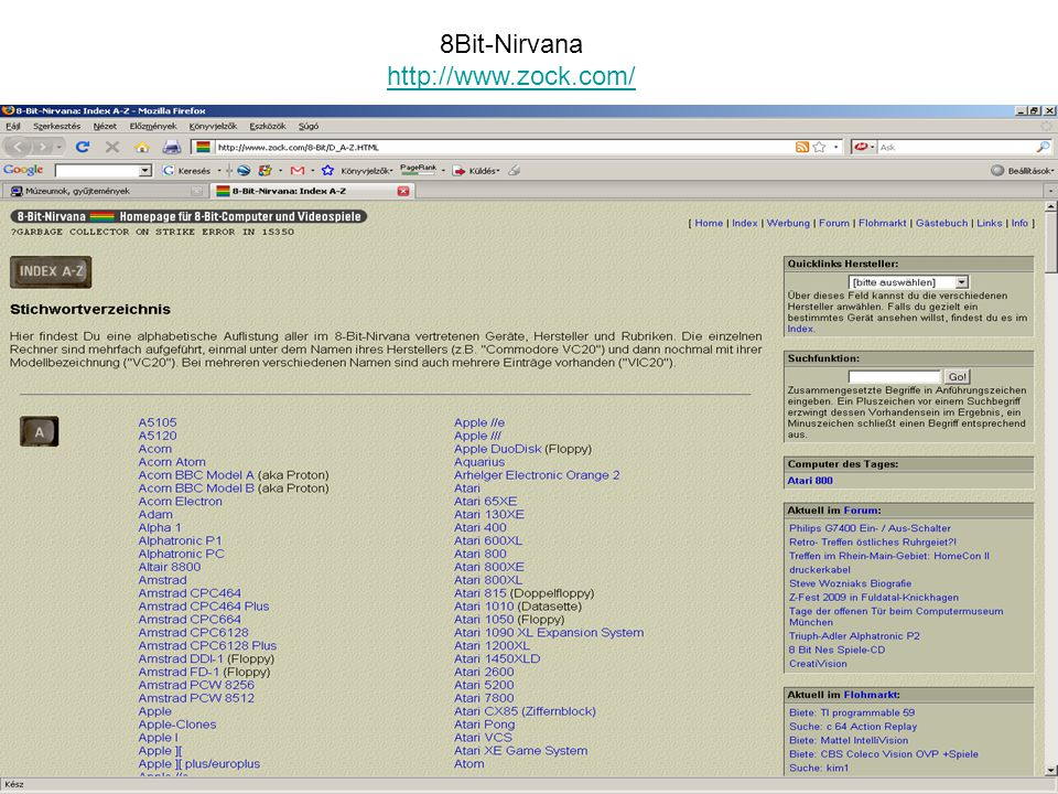 8Bit-Nirvana http://www.zock.com/