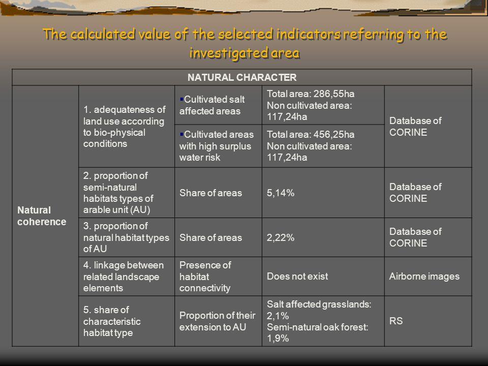 NATURAL CHARACTER Natural coherence 1.