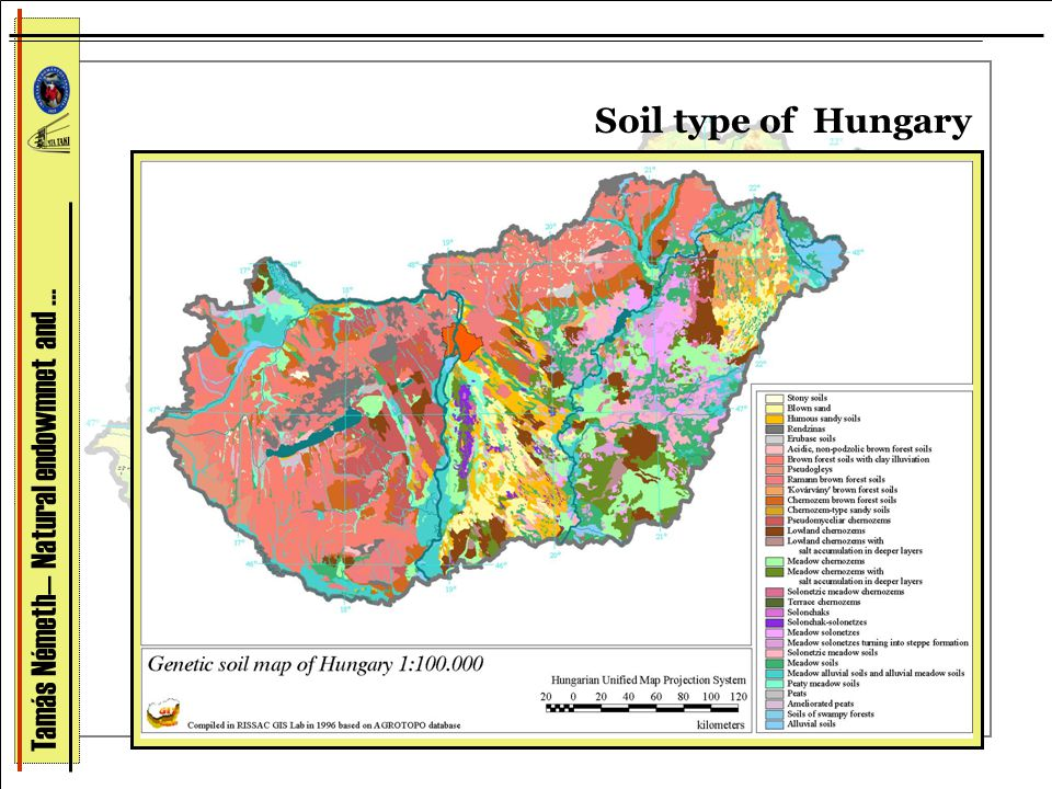 Soil type of Hungary Tamás Németh— Natural endowmnet and …