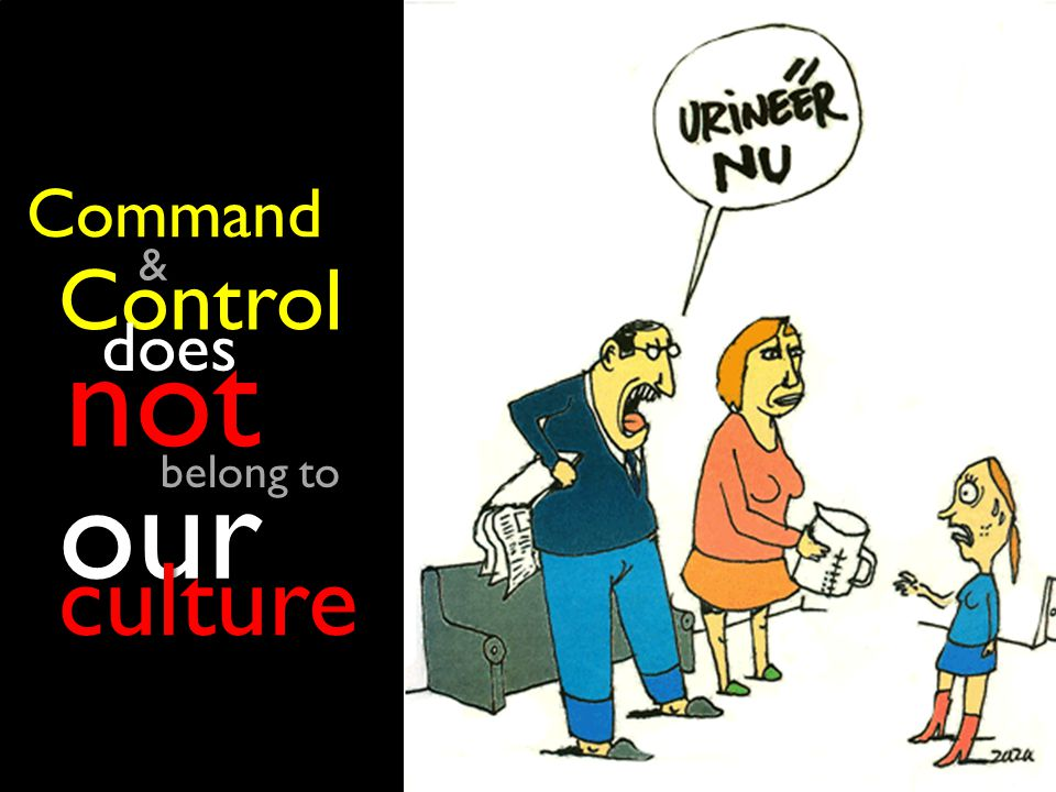 Control does does not not our culture Command & belong to