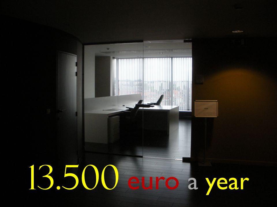 13.500 euro a year