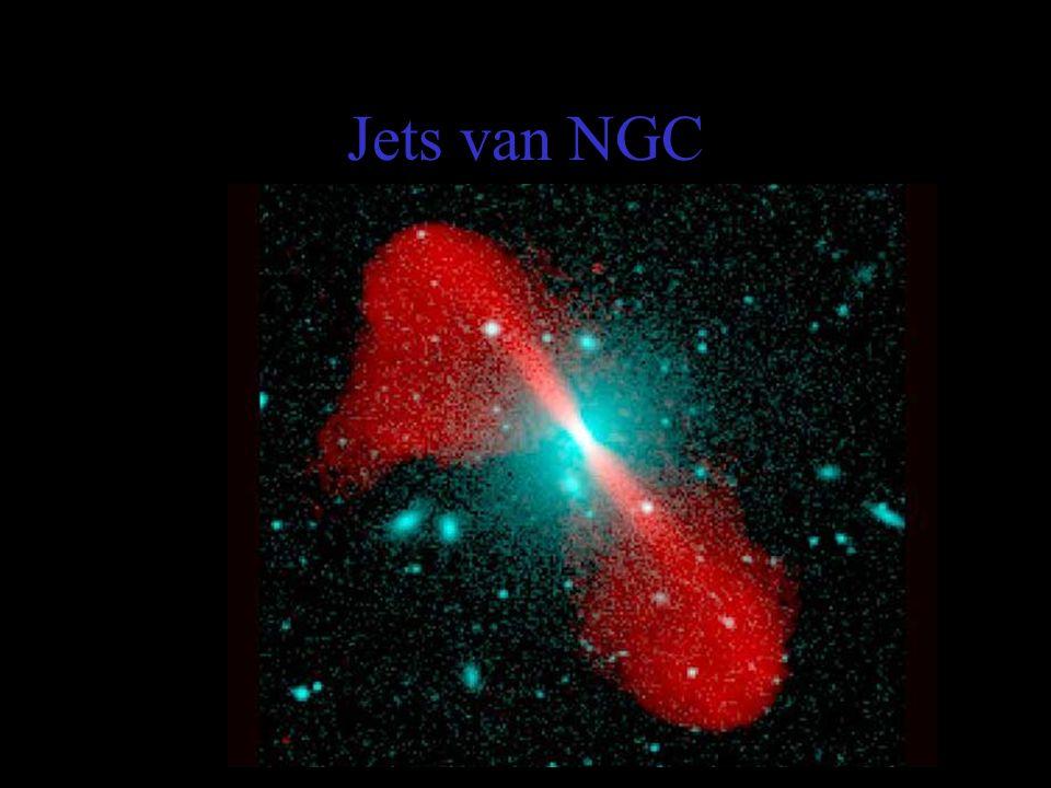 Jets van NGC