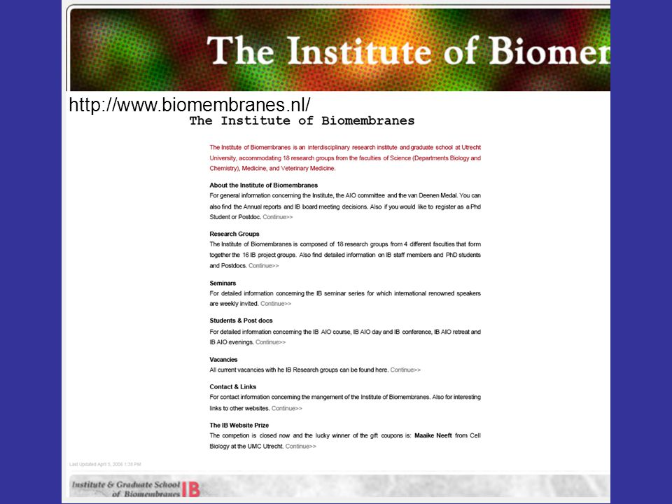 http://www.biomembranes.nl/