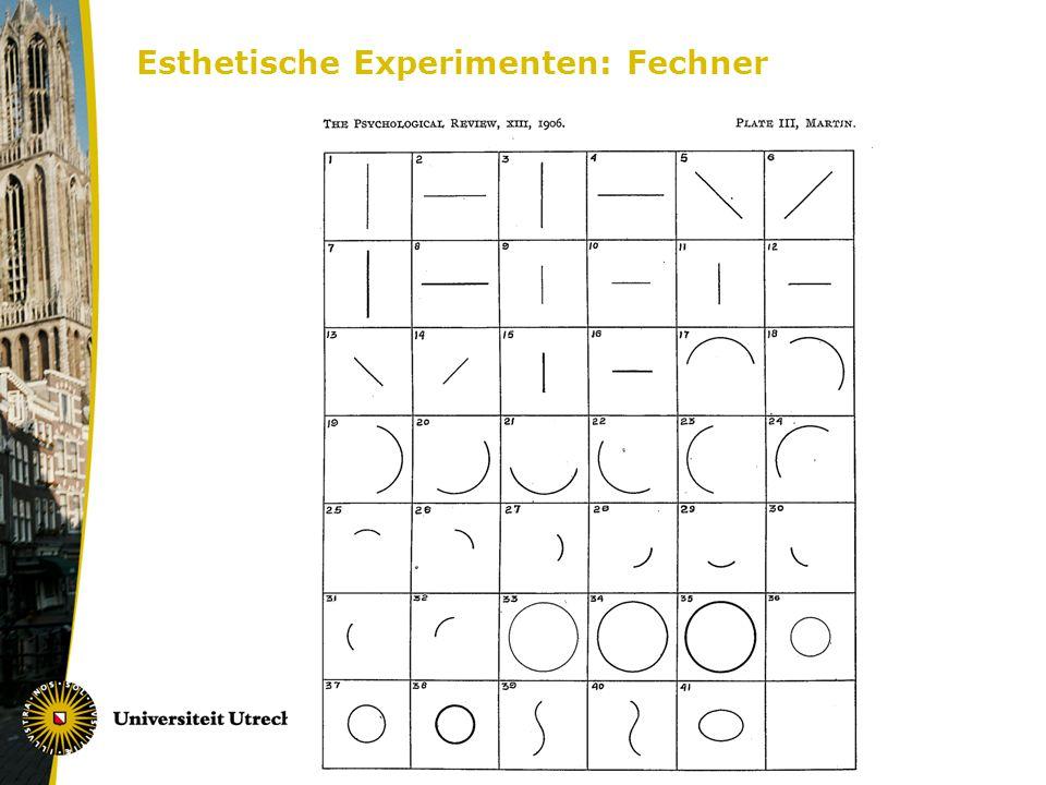 Esthetische Experimenten: Fechner
