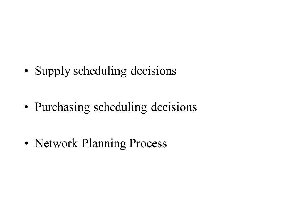 Logistieke concepten College 5 (hoofdstuk 11 en 14 Ronald H. Ballou)