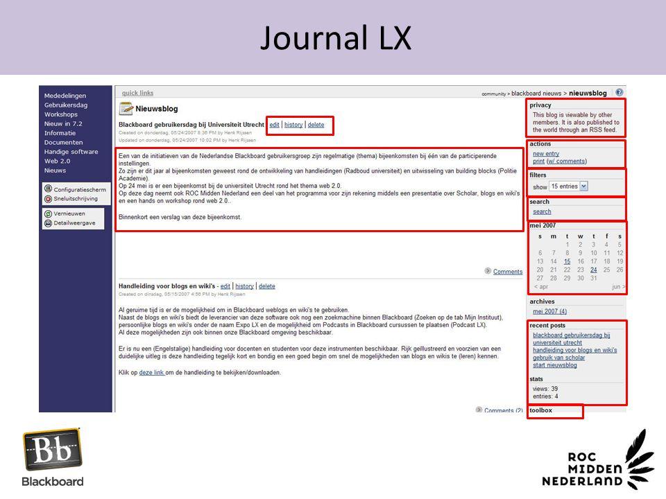 Journal LX