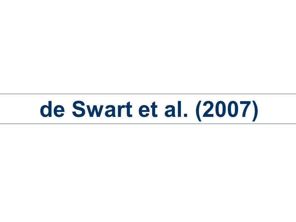 de Swart et al. (2007)