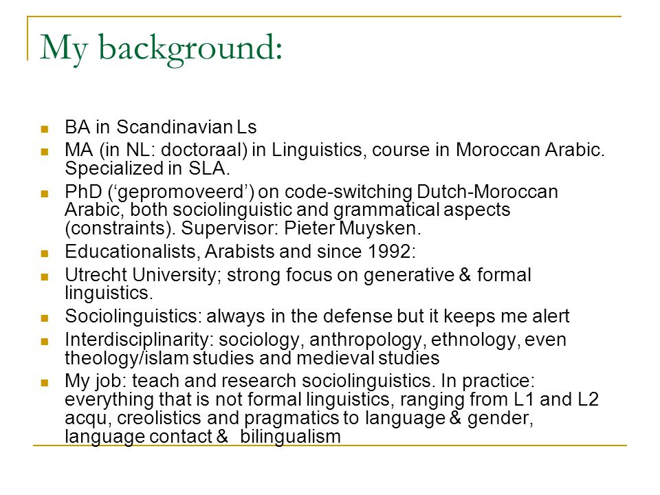 Slavonic languages Some masculine nouns used to have a disctinctive genitive-like accusative case.