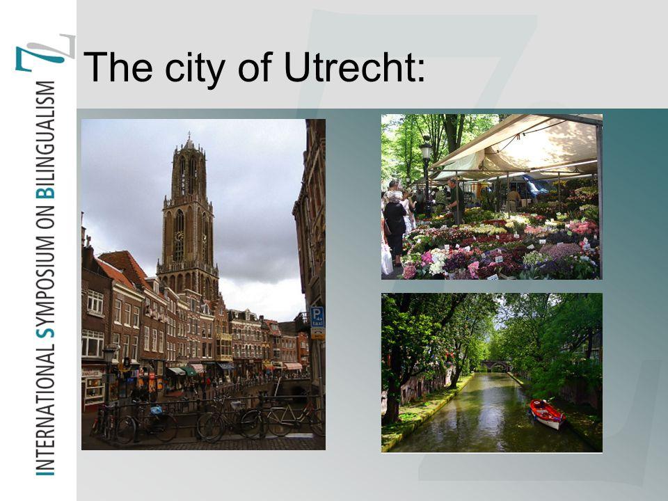 The city of Utrecht: