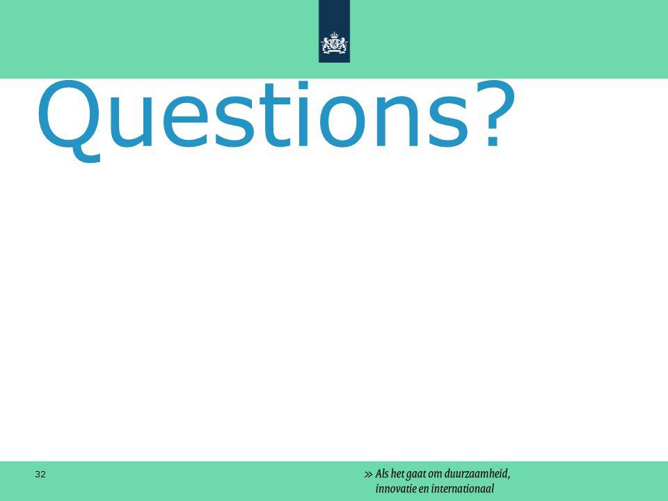 Questions? 32