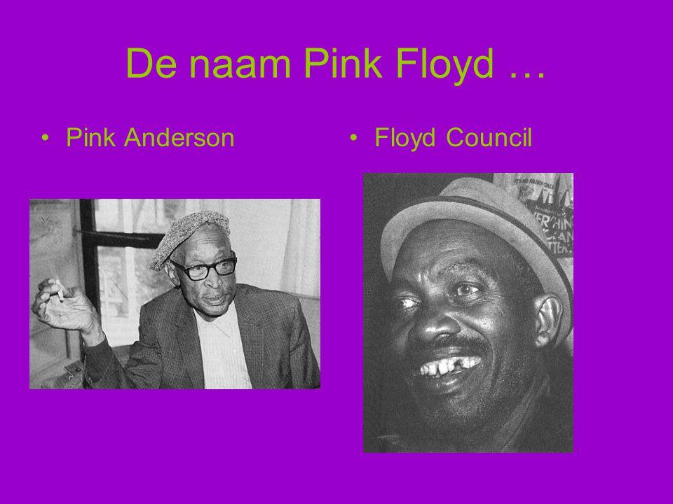 De naam Pink Floyd … Pink AndersonFloyd Council