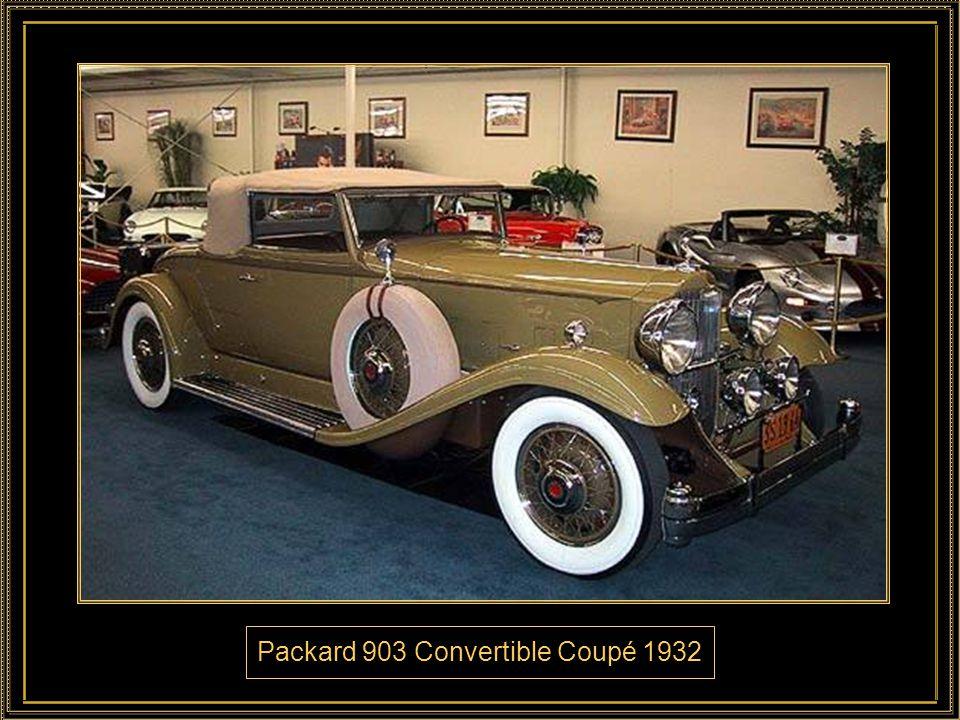 Packard 903 Convertible Coupé 1932