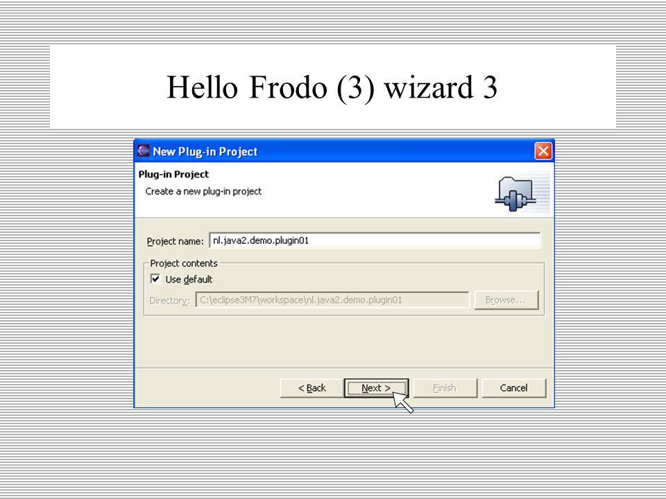 Hello Frodo (2) wizard 2