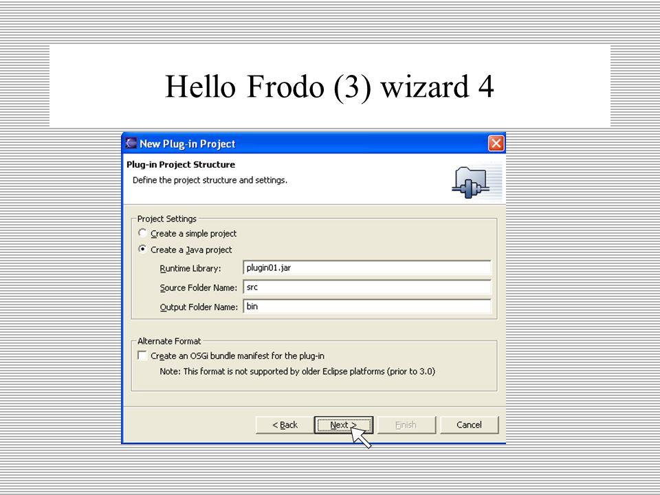Hello Frodo (3) wizard 3