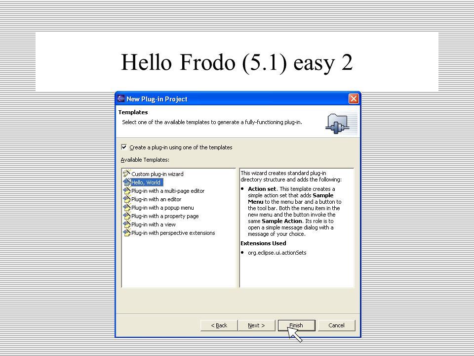 Hello Frodo (5.1) easy 1