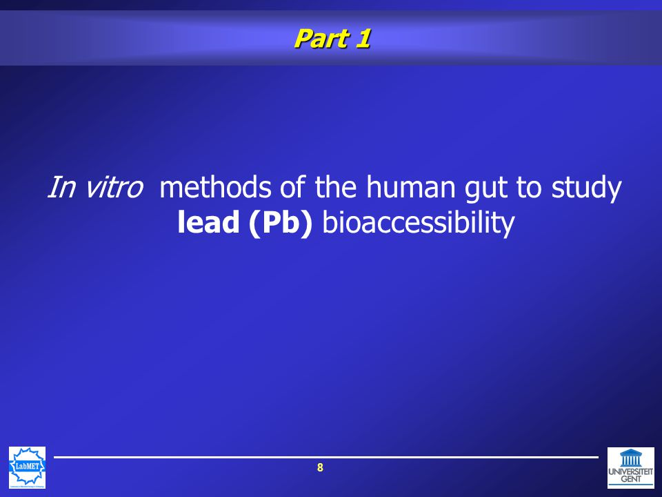 9 In vitro models of the human gut (SHIME) II r III r Z P I: Stomach II: Duodenum III: Jejenum/ileum IV: Caecum/Colon ascendans V: Colon transversum VI: Colon descendens A: Zuur P: Pancreassap pH: pH-controle r: Roerder I r Voeding IV r pH V r VI r pH Effluent