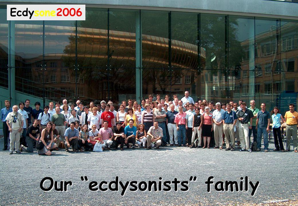 "Our ""ecdysonists"" family Ecdysone2006"
