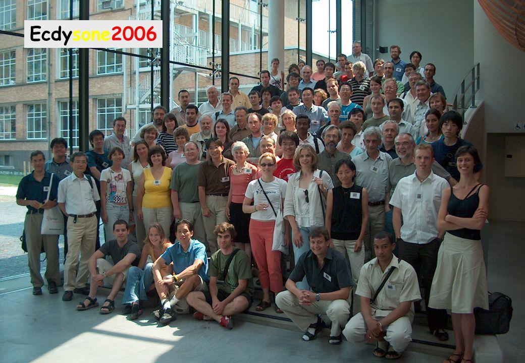 "The ""ecdysonists"" family photo Ecdysone2006"