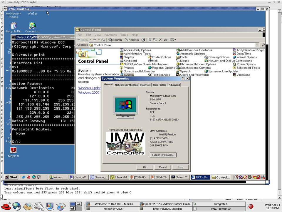 25 July, 2014 Hailiang Mei, TU/e Computer Science, System Architecture and Networking 8 Virtual Network Computing